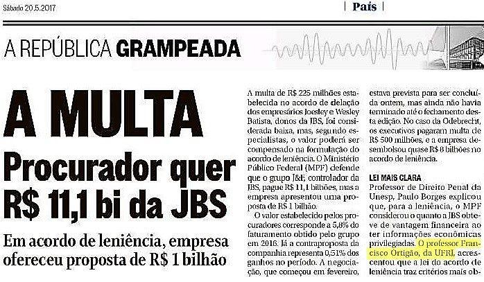 DR. FRANCISCO ORTIGÃO NO GLOBO