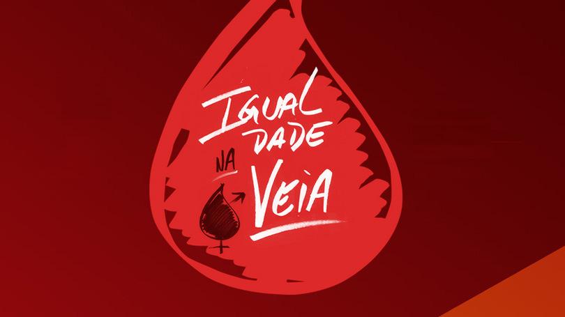 Protesto contra proibição de doação de sangue por homossexuais