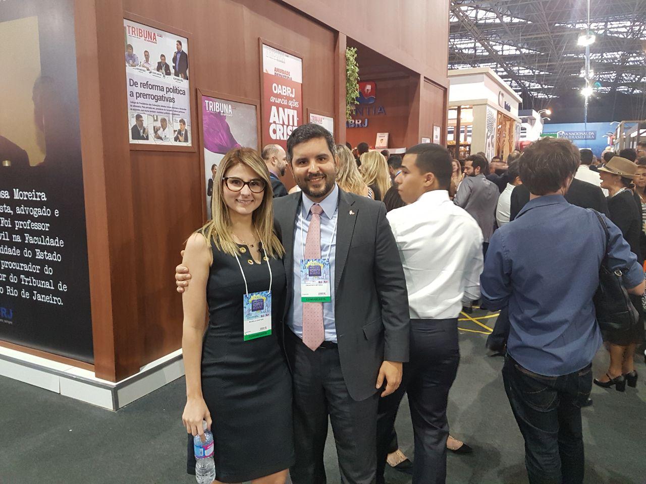 Francisco Ortigão e Michelle Gaetani
