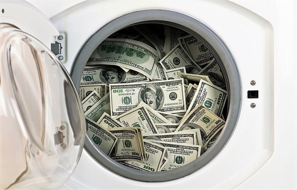 Máquina de (lavar) dinheiro